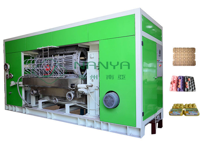 Rotary Recycle Paper Pulp Molding Pulp Egg Tray Making Machine With 8 Sides