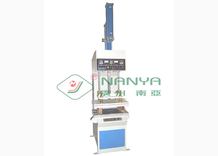 Small Semi Automatic Manually Hot Press Machine For Paper Egg Box / Industrial Tray