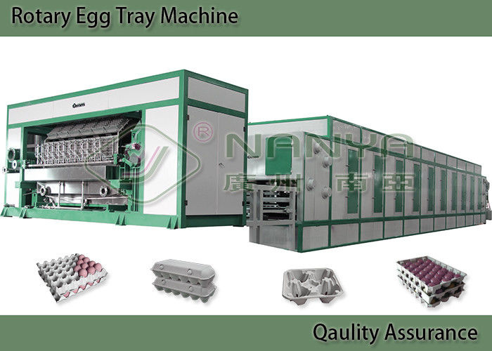 Energy Saving Pulp Molding Equipment For Egg Tray , Egg Carton Multiple Layer